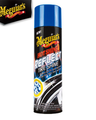 Meguiar´s Hot Shine Reflect Tire Shine G18715 on sumutettava